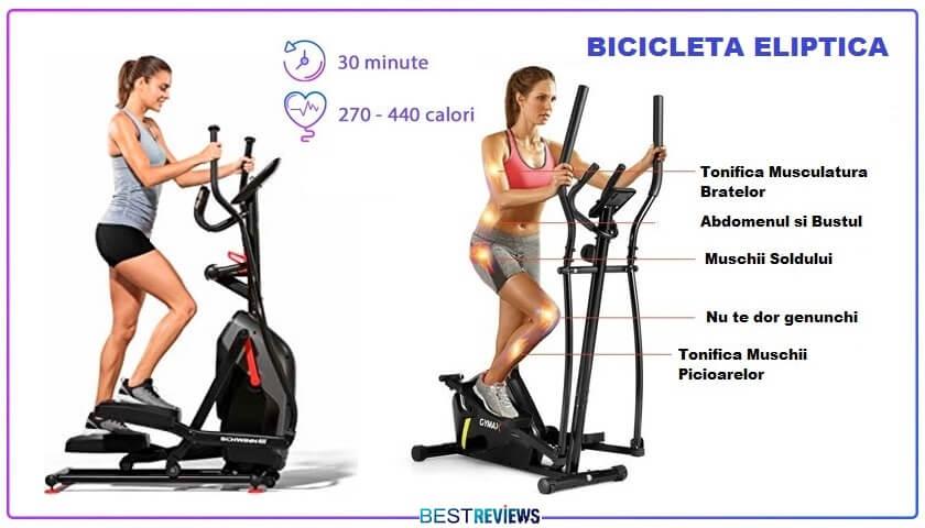 avantaje bicicleta eliptica