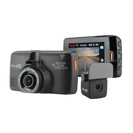 Camera auto DVR duala
